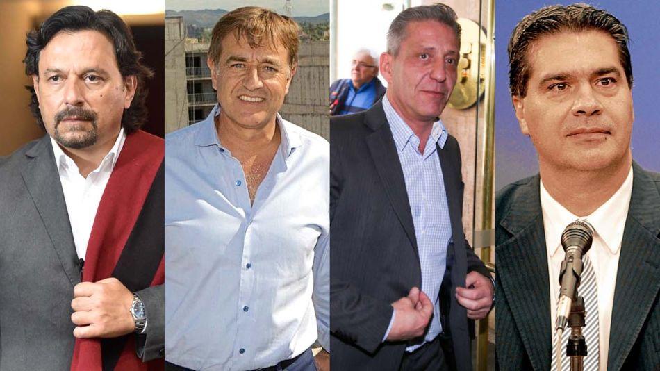 Gobernadores: Gustavo Saenz, Rodolfo Suarez, Mariano Arcioni y Jorge Capitanich-20200624