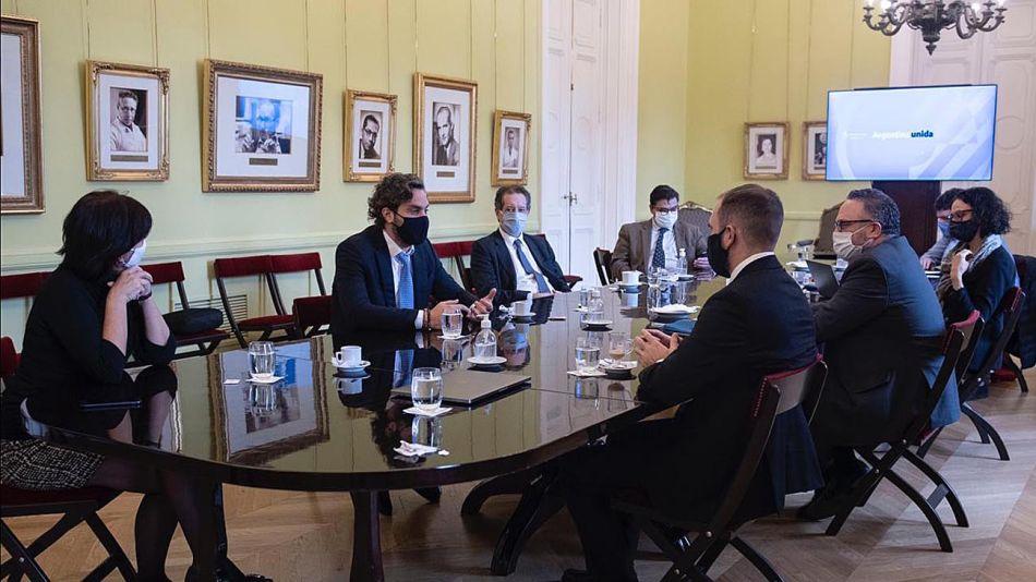 Reunión de gabinete económico.