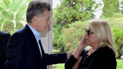Mauricio Macri y Elisa Carrió-20200625