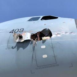 Los daños en la aeronave fueron muy severos. Además no es la primera vez que un avión de este tipo queda inutilizado por un choque con un pájaro.