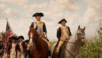 George Washington en la serie de History.
