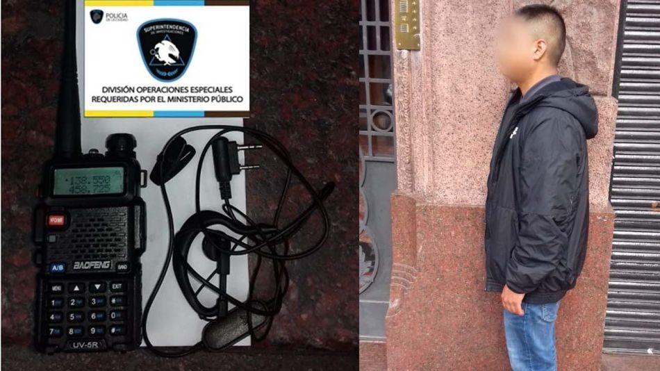 El ladrón detenido en el barrio de Balvanera tenía en su poder un inhibidor de alarma-20200625
