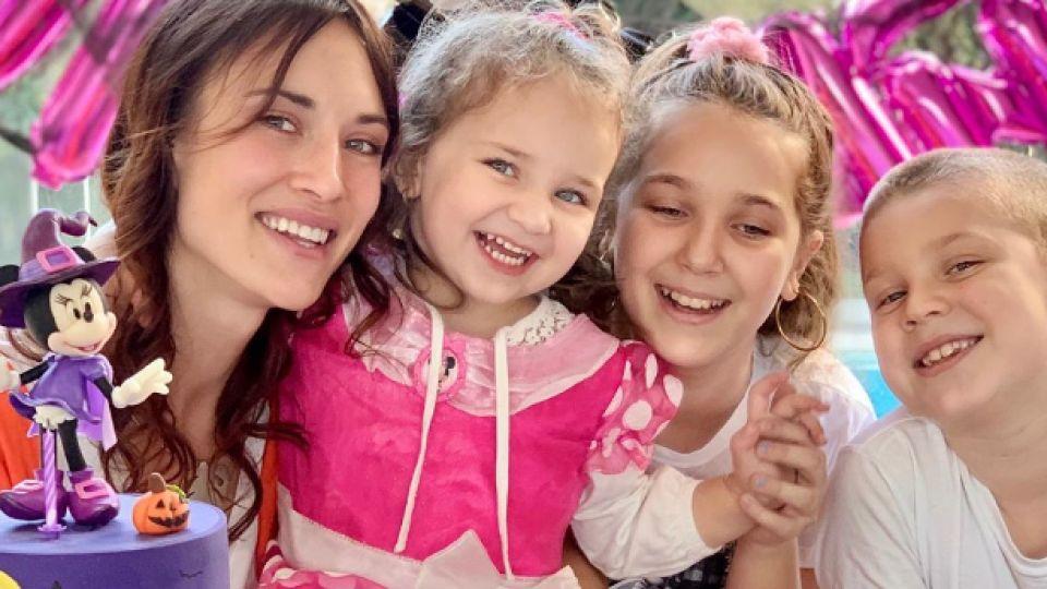 El festejo de cumpleaños de Alma, la hija de Camila Cavallo y Mariano Martínez