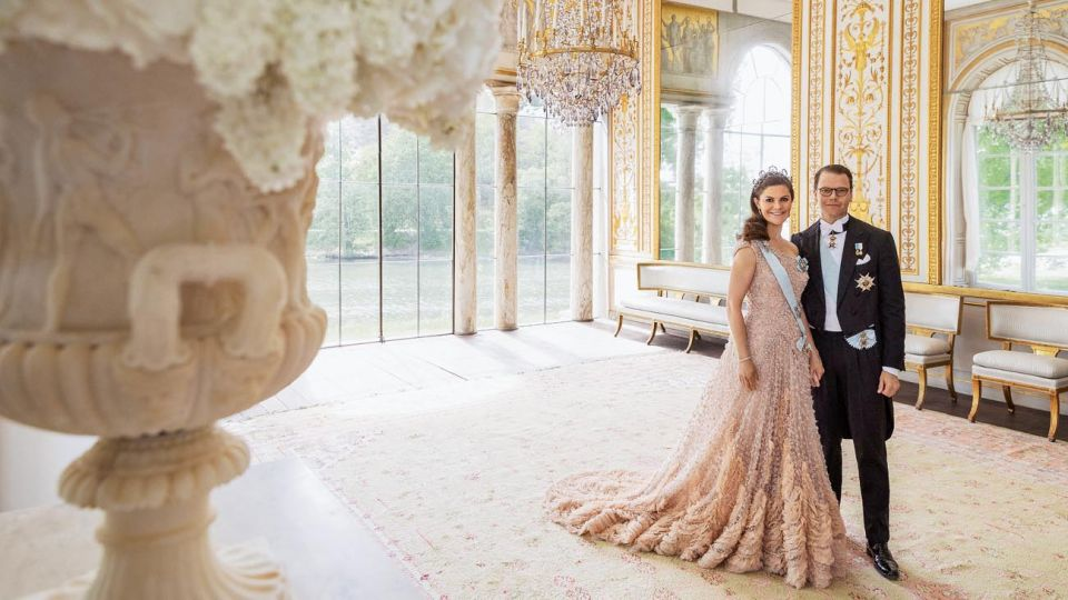 Victoria de Suecia abre las puertas del palacio