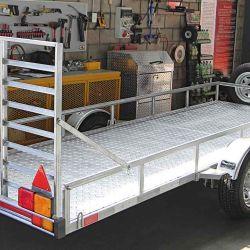 La categoría 01, hasta 750 kilos con carga incluida, abarca tráileres destinados al traslado de equipaje, motos, cuatriciclos o elementos de recreación familiar.