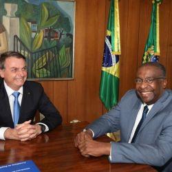 Bolsonaro con el flamante ministro Decotelli | Foto:Cedoc
