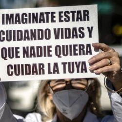 s autoconvocados de la ciudad y de la provincia de Buenos Aires.  | Foto:Médicos Autoconvocados