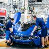 Los últimos BMW i8 fabricados en la planta de Leipzig.