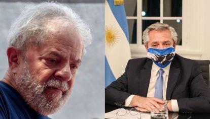 Alberto Fernandez Lula Da Silva