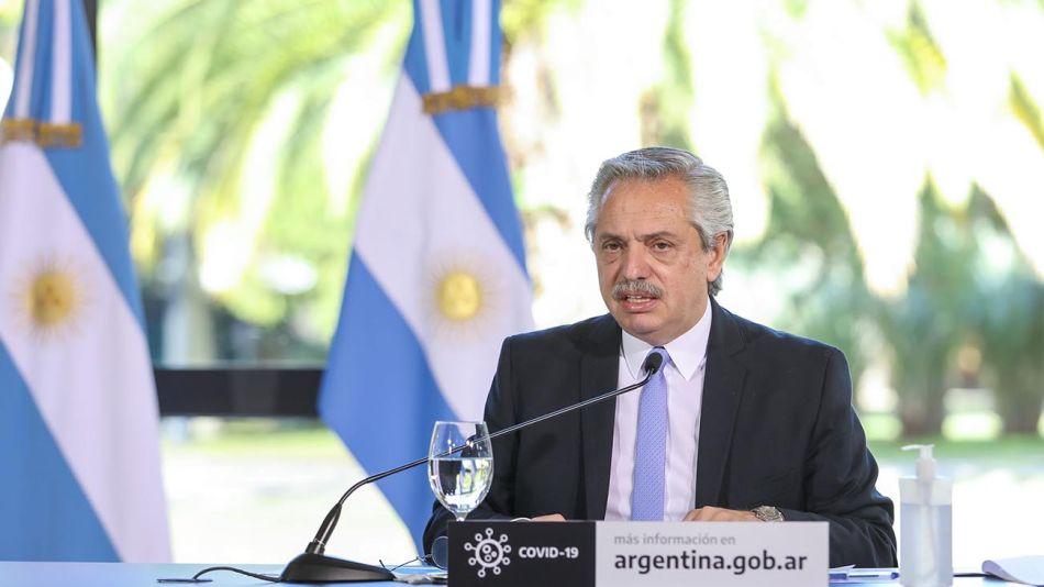 Alberto Fernández anuncia 20200626