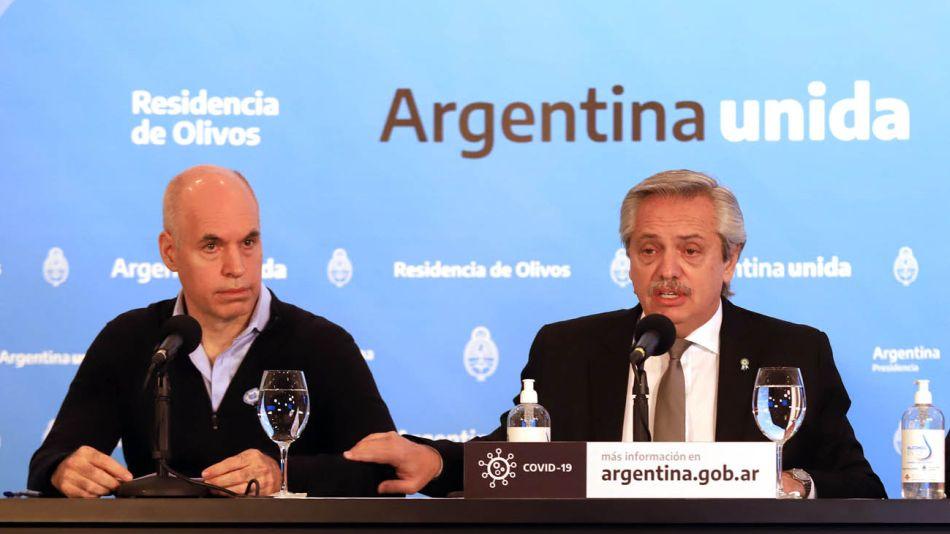 Horacio Rodríguez Larreta tiene mejor imagen que Alberto Fernández 20200626