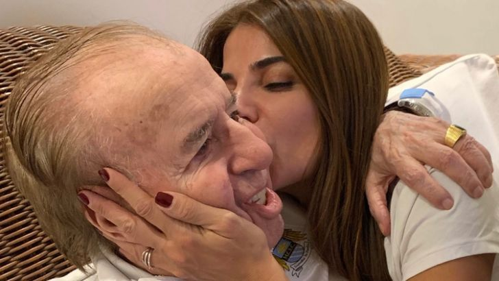 A LA ESPERA DEL ALTA. Menem fue internado el 13 de junio y se le diagnosticó neumonía bilateral. Se recupera y aguarda su salida del sanatorio. Lo espera un juicio por la Fábrica Militar de Río Tercero