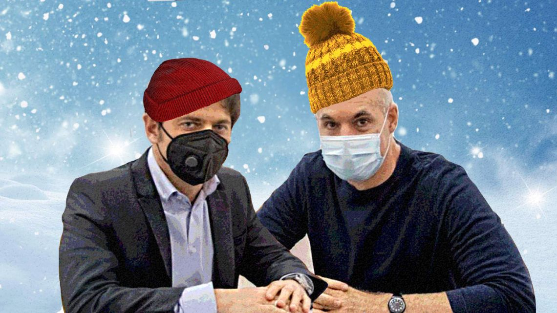 Kicillof and Larreta are showing manners and are holding regular meetings to sort out their differences before announcing decisions together.