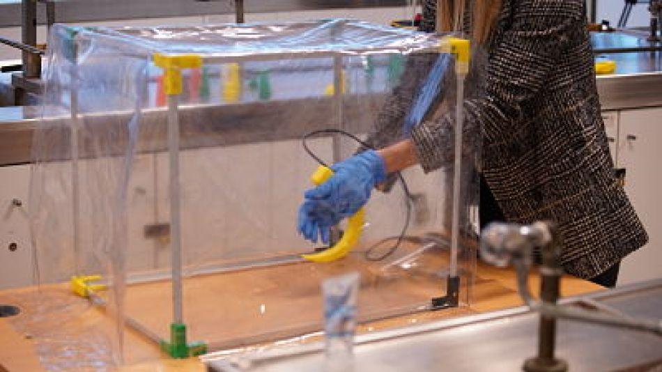 Investigadores desarrollaron nuevo dispositivo para personal de la salud