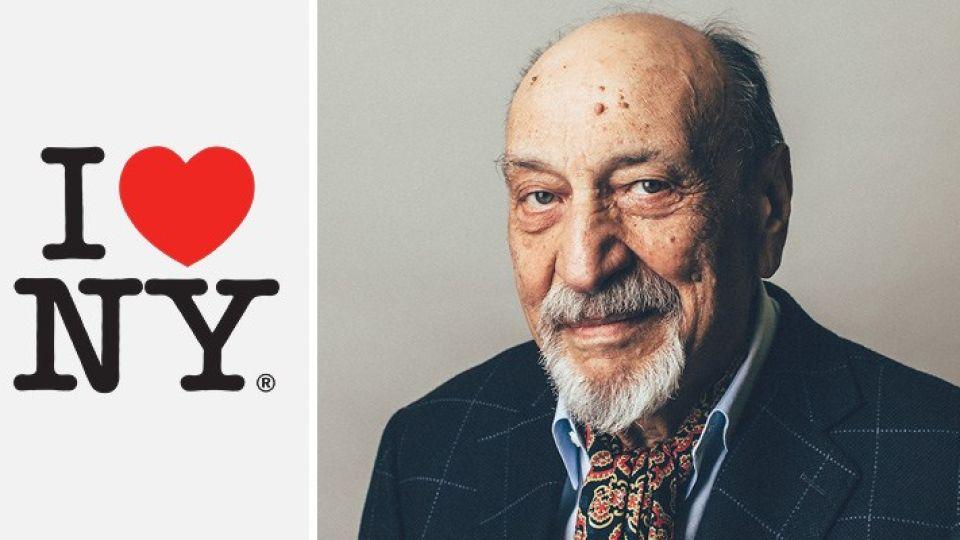 """Milton Glaser creó logo """"I love NY"""" en 1977"""