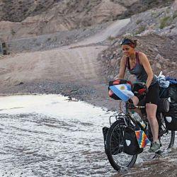 El cicloturismo nos permitió vivir la aventura con otros tiempos, disfrutando también de hermosos y complejos caminos de ripio.