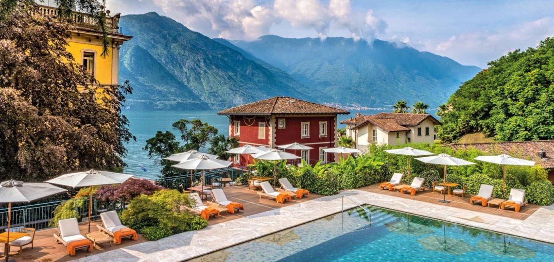 Conocé el increíble hotel del Lago de Como que eligió Chiara Ferragni para su post cuarentena