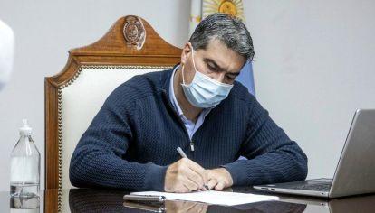 El gobernador del Chaco, Jorge Capitanich