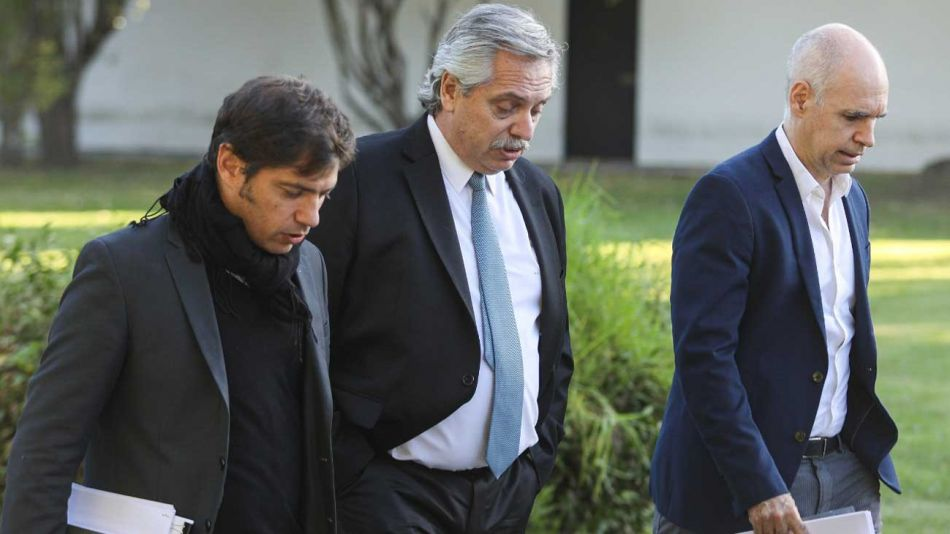 Alberto-Fernández-Horacio-Rodríguez-Larreta-Axel-Kicillof-NA