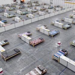 El lugar tiene 16.100 metros cuadrados y camas para 798 personas | Foto:Telam