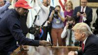 Trump con Kanye West 20200630