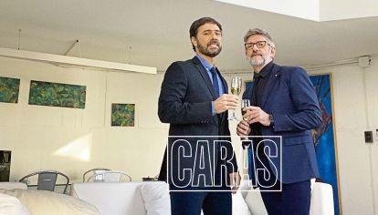 Luis Novaresio y Braulio Bauab mostraron un poco de la intimidad de su boda y festejo