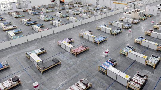 El lugar tiene 16.100 metros cuadrados y camas para 798 personas