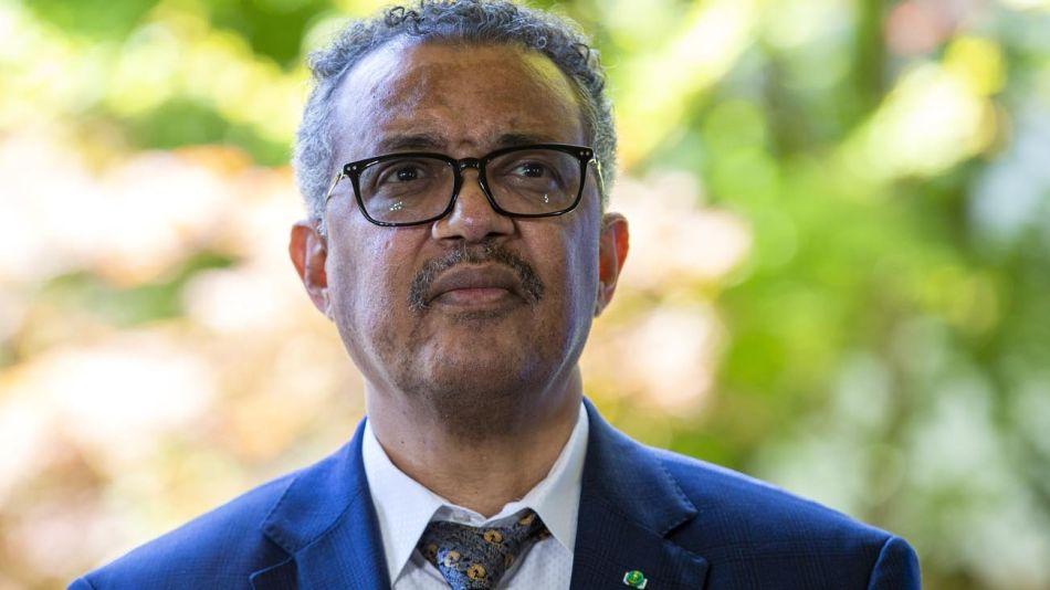 Tedros Adhanom, titular de la OMS 20200630