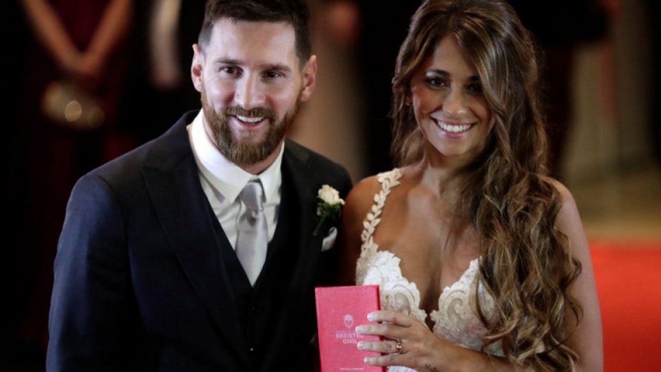 Antonella Roccuzzo compartió un emotivo recuerdo de su boda con Messi