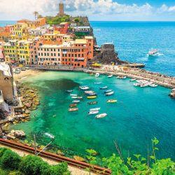 Vernaza, en Cinque Terre Italia, (Patrimonio de la Humanidad).