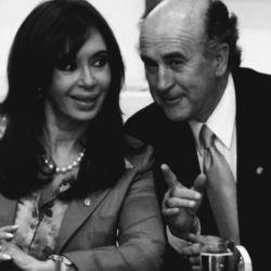 Cristina Fernández y Oscar Parrilli