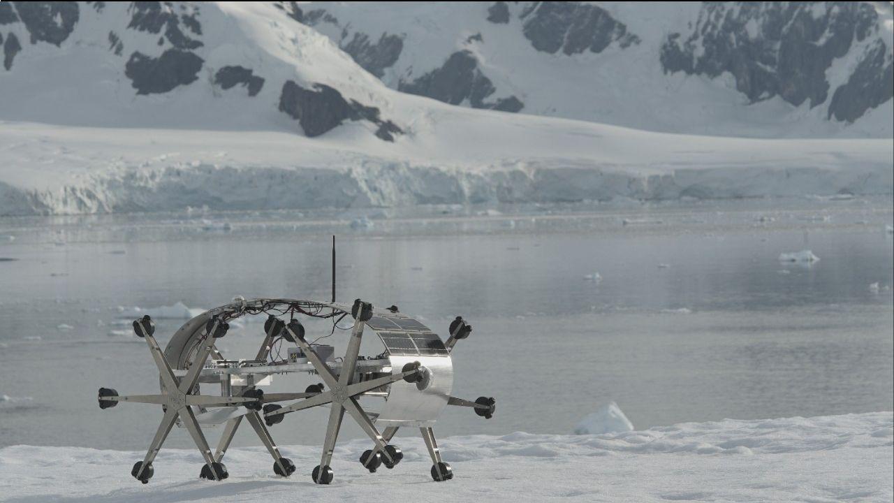 Proyecto Utopía en el suelo de la Antártida. | Foto:Joaquín Fargas