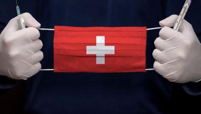 Suiza lucha con el coronavirus.