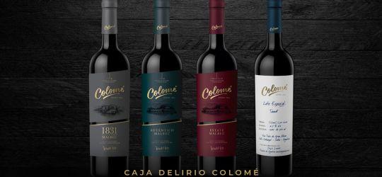 Suscribite a DELIRIO, recibí tu caja con 4 vinos premium