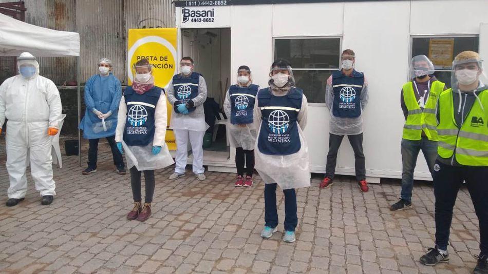 Cascos Blancos detectando personas con síntomas de coronavirus 20200701