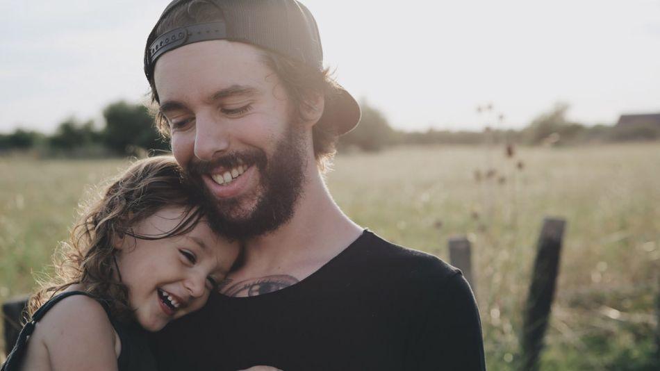 Sonrisas, el mejor regalo del Día del Padre.