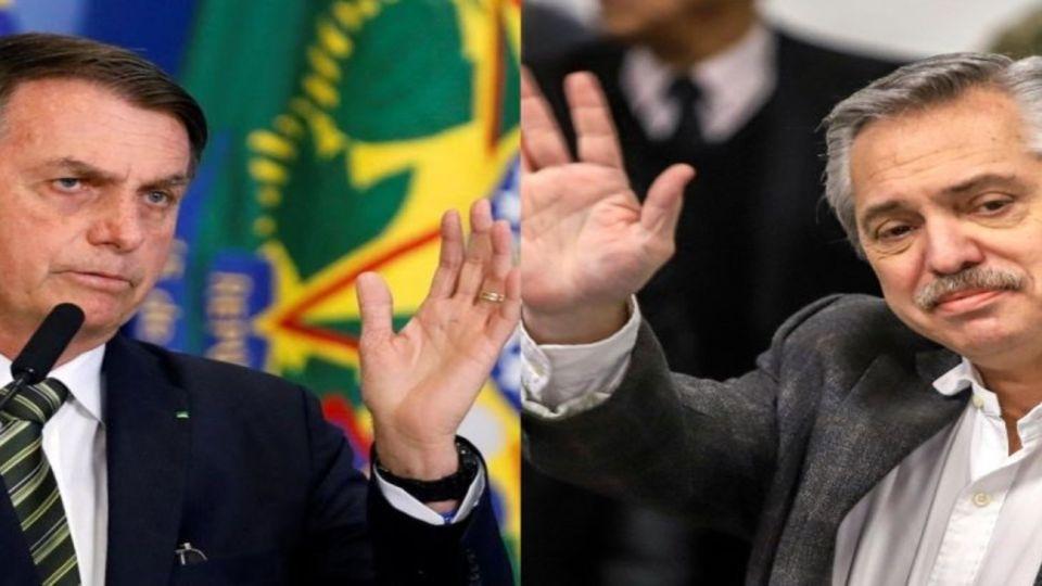 Bolsonaro Alberto Fernandez Cedoc Perfil 20200701
