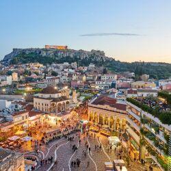 Brillante y populosa, así es Atenas hoy.
