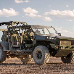 El ISV es un vehículo expedicionario y de gran movilidad y velocidad.