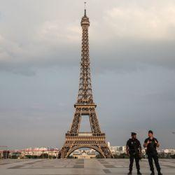 París, con la Torre Eiffel, en la actualidad.