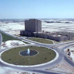 Así era Abu Dhabi no hace mucho.