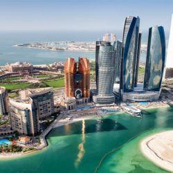 Así está hoy la magnífica Abu Dhabi.