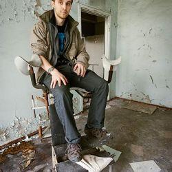 "Andrew Leatherbarrow, autor de ""Chernóbil 01:23:40""   Foto:Gentileza Duomo."