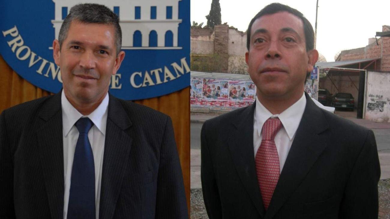Juan Pablo Morales y Raúl Da Pra, jueces involucrados.
