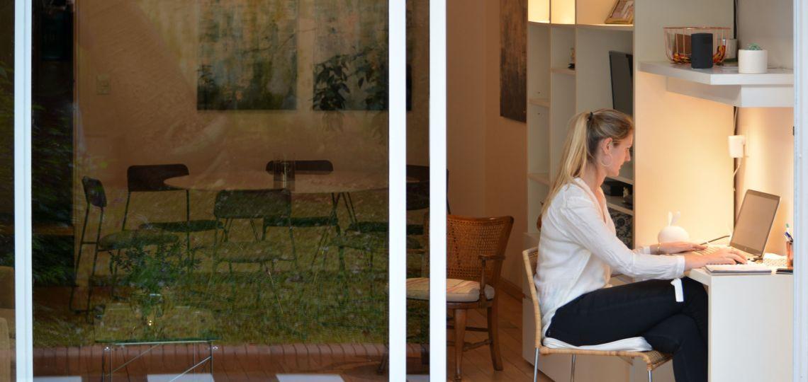 En fotos: así es el interior de la casa de una de las cocineras más reconocidas del país