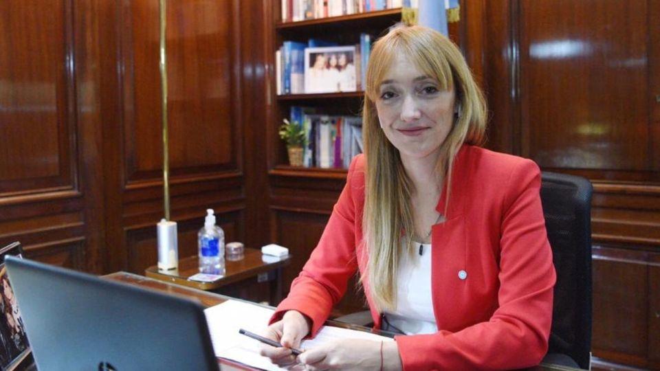 Anabel Fernández Sagasti, senadora y vicepresidenta del bloque Frente de Todos.