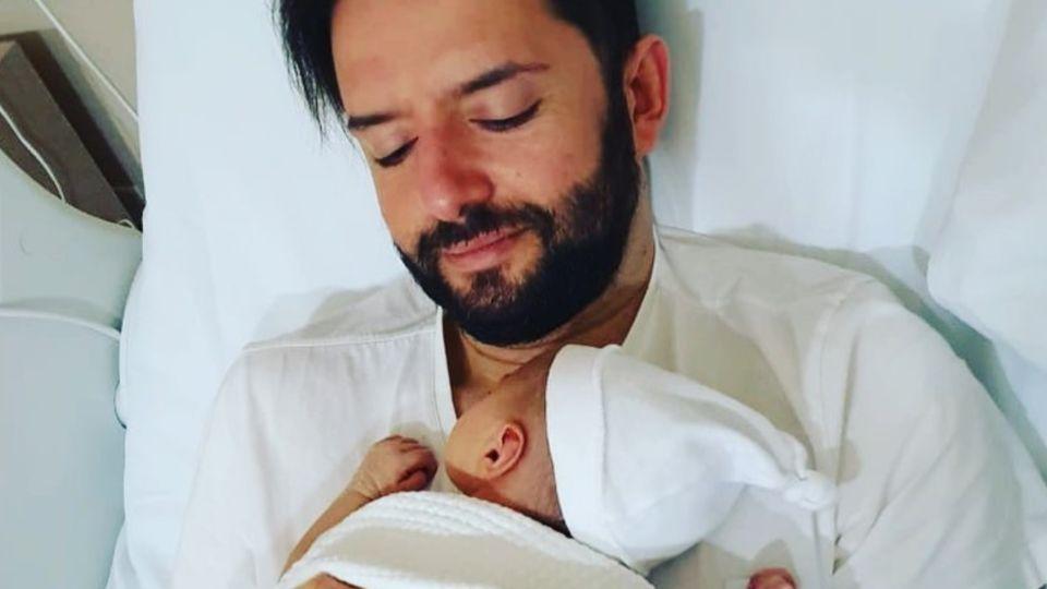 Federico Ini, el periodista de Telefe fue papá de una nena