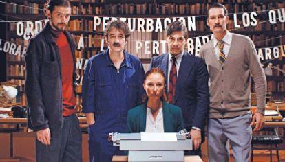 Boom. Así se presenta la nueva serie que se emite en el canal Encuentro, Impriman la leyenda.