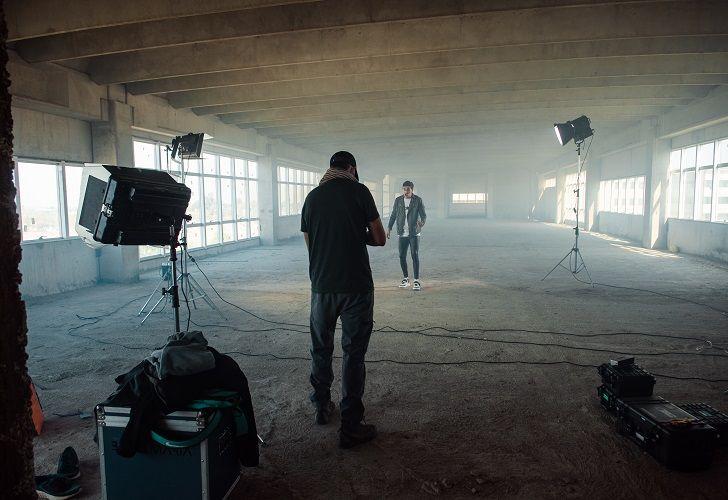 LA VUELTA DE LOS RODAJES. Con equipo reducido, la productora cordobesa Feelm rodó el videoclip de Q'Lokura.