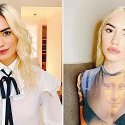 Antes y después de Lali Espósito. | Foto:Cedoc.